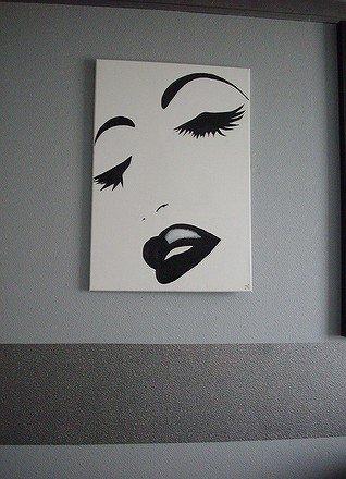 la terre les pinceaux et moi tableau noir et blanc. Black Bedroom Furniture Sets. Home Design Ideas